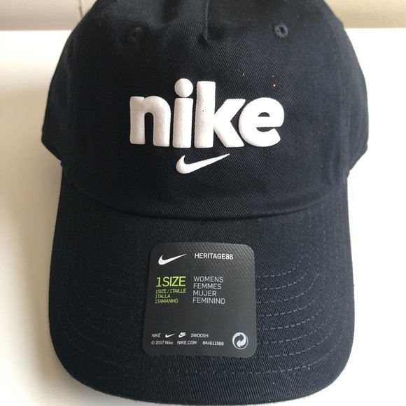 Nike Logo Black Baseball Cap